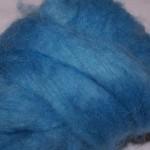 Carded Mohair Blue