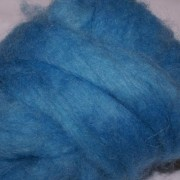 Carded Mohair Blue