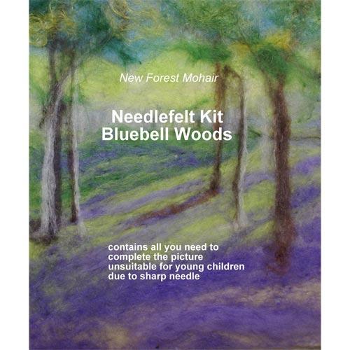 Bluebell Wood Needlefelt Kit