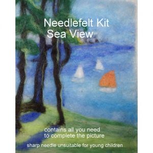 Seascape Needlefelt Picture Kit