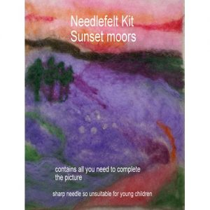 Sunset Moors Needlefelt Kit