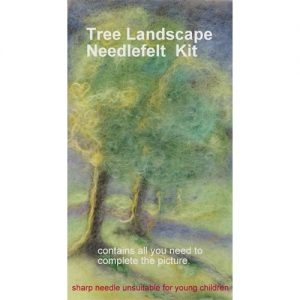 Tree Lanscape Needlefelt Kit