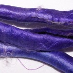 Purple Silk Carrier Rods