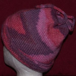 Tie Up Hat Knit Kit