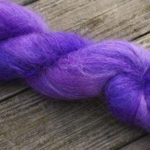 brushed laceweight mohair yarn